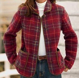Orvis Fleece Toggle Jacket size large